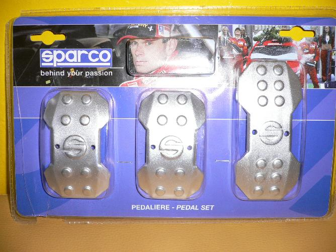 Sparco pedály Iron