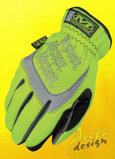 Rukavice Mechanix Safety FastFit - žluté reflexní